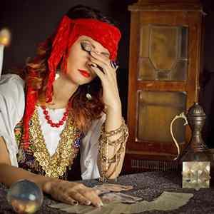 Interactive gypsy tarot