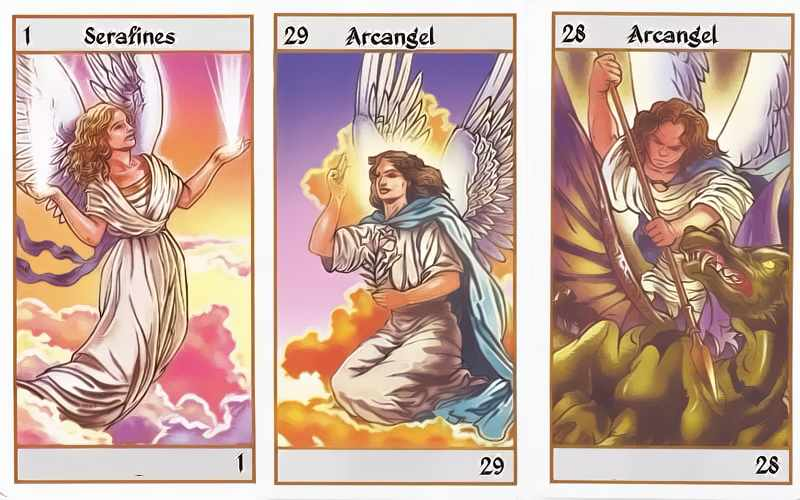 Interactive Tarot of the angels